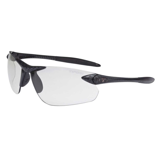 Tifosi Seek FC Carbon Fototec Light Night Lens Sunglasses (Carbon)