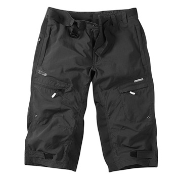 Madison Trail 3 Quarter Mens Shorts (Black)