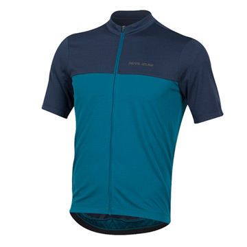 Pearl Izumi Quest Short Sleeve Mens Cycling Jersey (Navy-Teal)