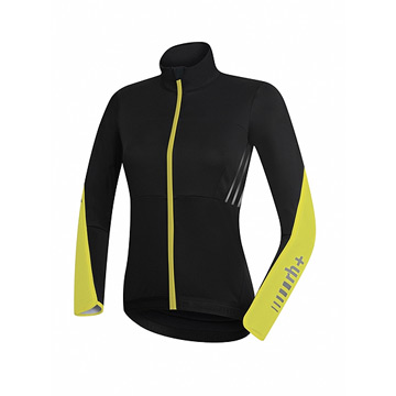 RH+ Zero Womens Jacket (Black-Fluo Yellow)