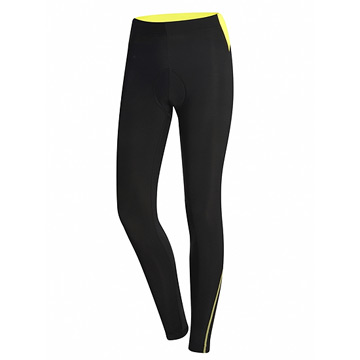 RH+ Zero Womens Tight (Black-Fluo Yellow)