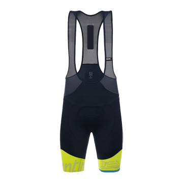 Santini Sleek 99 Mens Bib Shorts (Yellow)