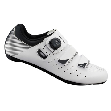Shimano RP4 SPD-SL Mens Cycling Shoes (White)