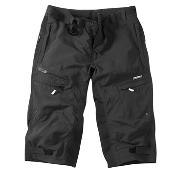 Madison Trail Mens Three Quarter Shorts (Black)