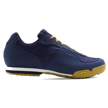 Giro Rumble VR Mens Cycling Shoes (Dress Blues-Gum)
